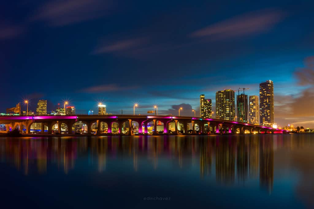 best photography spots Miami skyline