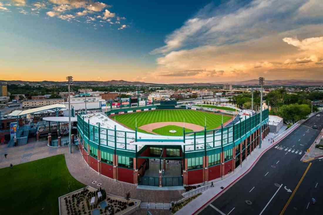 best places to photograph in reno nevada baseball stadium