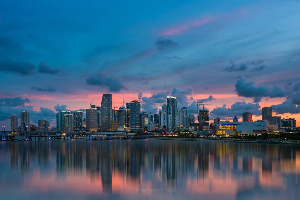 Miami Skyline best photography spots Miami