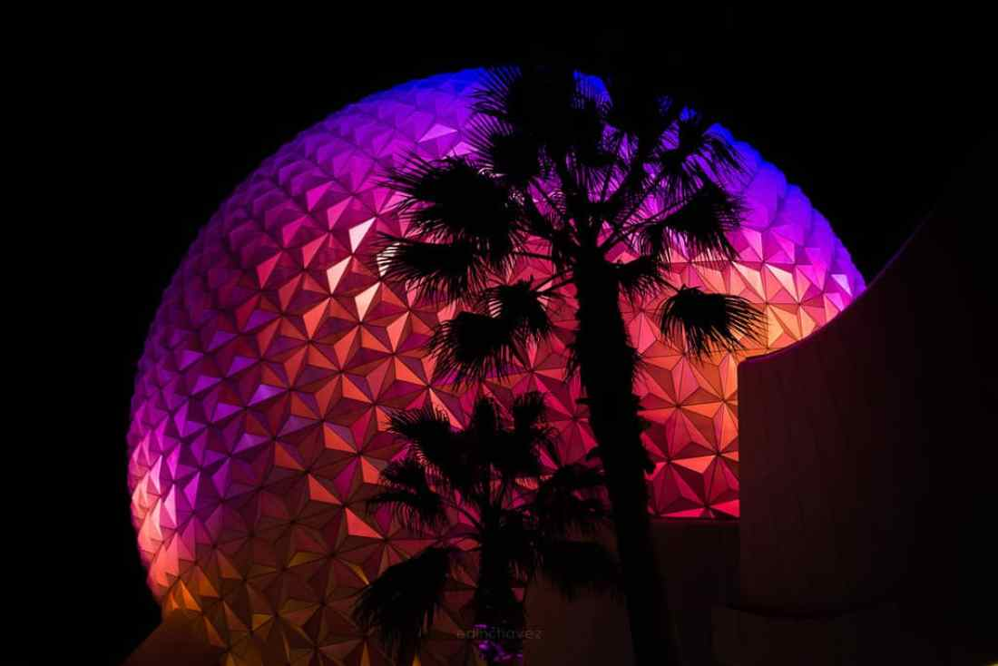 Best Photography Spots In Orlando Florida Epcot Sphere