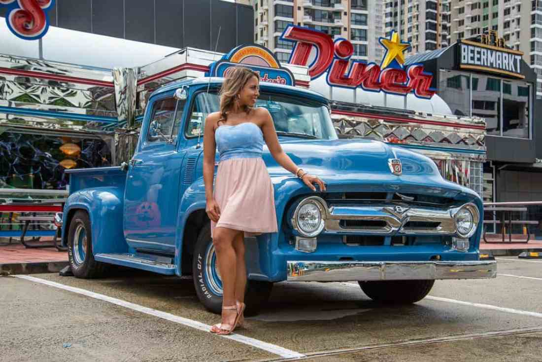 Best places to photograph in Panama, roadster diner