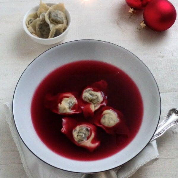 borsch repas de noël pologne