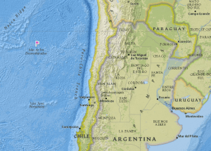 Map courtesy the National Geographic Education MapMaker Interactive