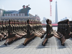 North Korea (officially the Democratic People's Republic of Korea) has been flexing its military muscle since Supreme Leader Kim Jong-un took office in 2011.Photograph by Adelin Petrisor