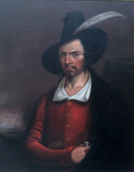 Portrait said to be of Jean Lafitte