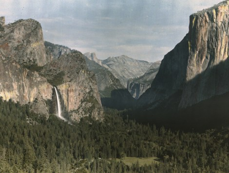 Happy Birthday, Yosemite! You don't look a day over 122. Too bad no one can come to your party. Photograph by Charles Martin, National Geographic