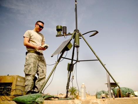 Photograph by Master Sgt. Adrian Cadiz, courtesy U.S. Air Force