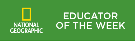 Ed of week green