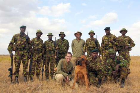 LEWA anti poaching team. Photo provided by The Perfect World Foundation