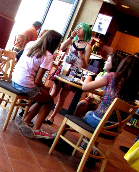 The social rituals of the American adolescent.Photograph by Sultry, courtesy Wikimedia. CC-BY-2.0