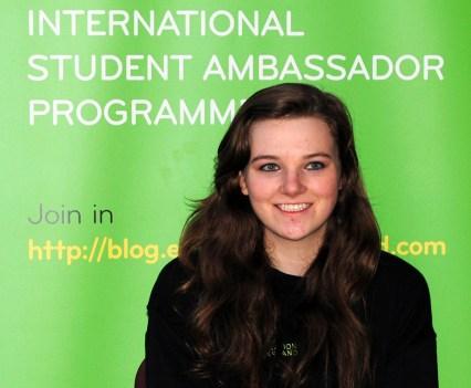 TCD Ambassador Ellen Brennan
