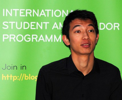 Limerick IT Ambassador Tommy Guo