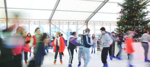 Ice skating at Winterval Festival, Waterford