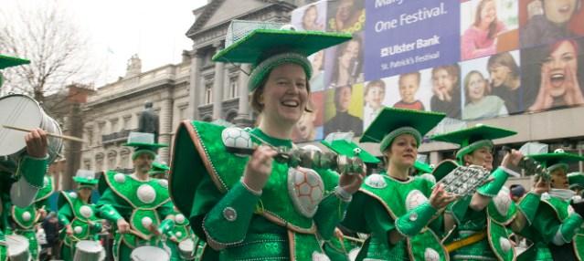 Ambassadors on St Patrick's Day 2014