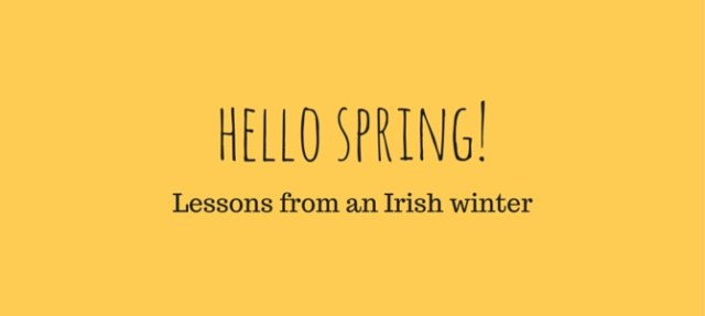 How to survive an Irish winter