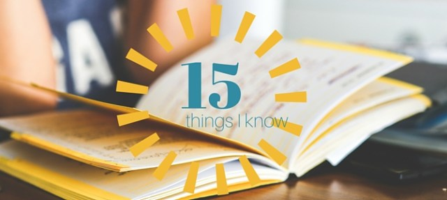 Six years in medical school and all I've learned are these 15 things?