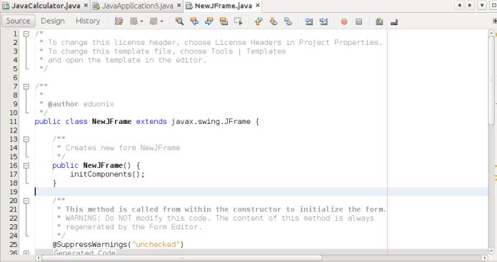 Learn To Create A Basic Calculator In Java Using Netbeans