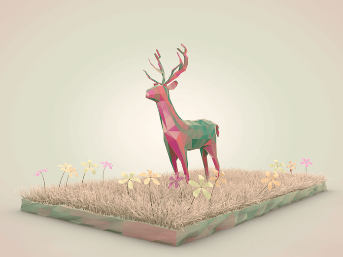 low poly 4