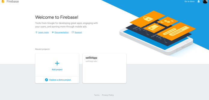 welocome to firebase