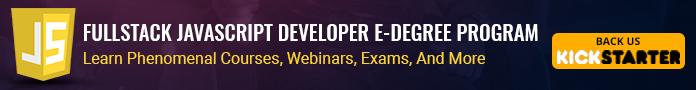 The FullStack JavaScript Developer E-Degree