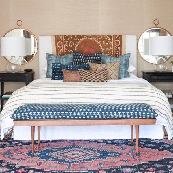 Boho Fabric Finds on a budget on Boho Bedroom Ideas On A Budget  id=36445