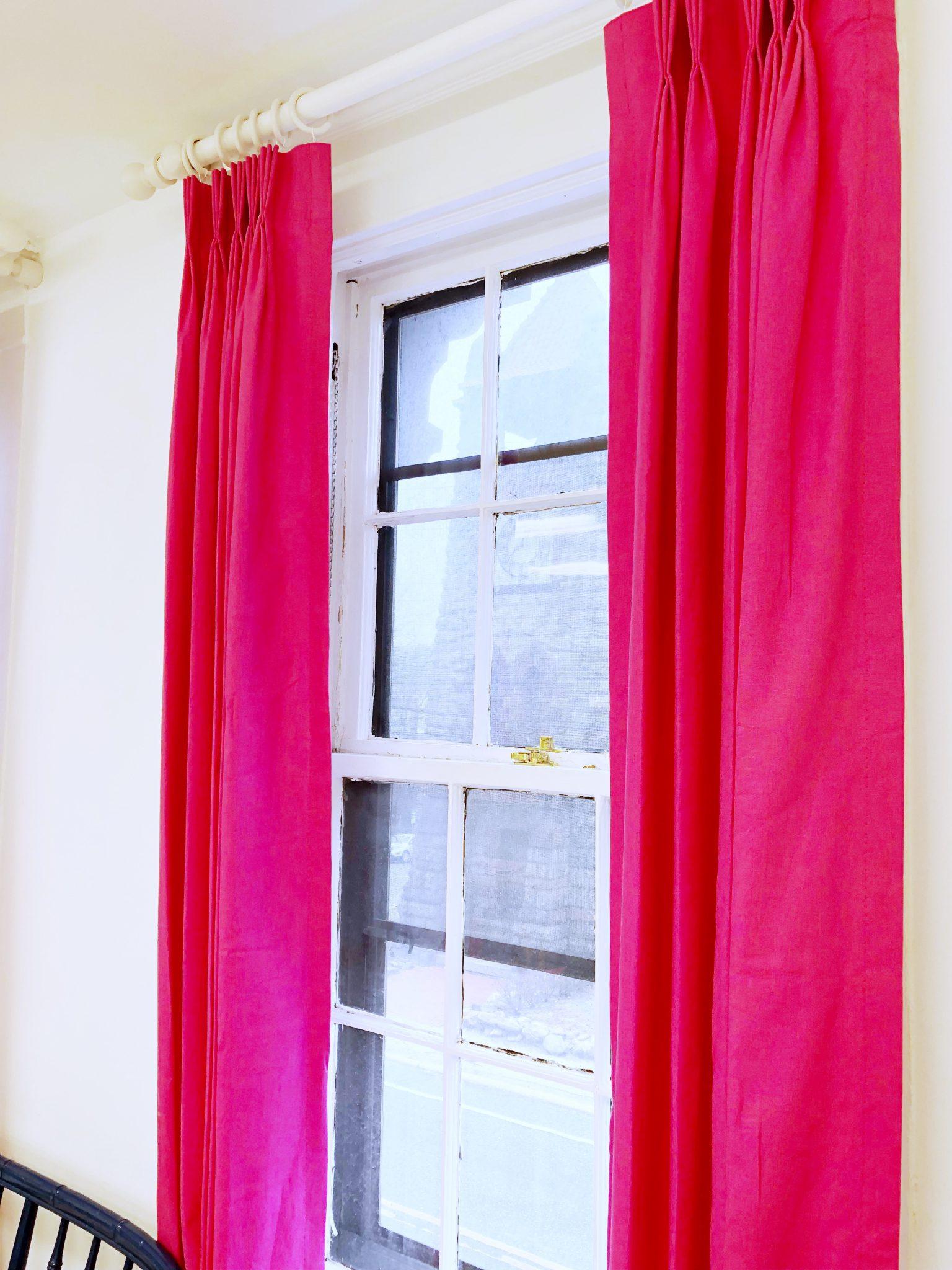 my favorite budget friendly curtain rod