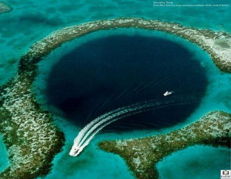 Great Blue Hole Belize Flickr Kashif Pathan