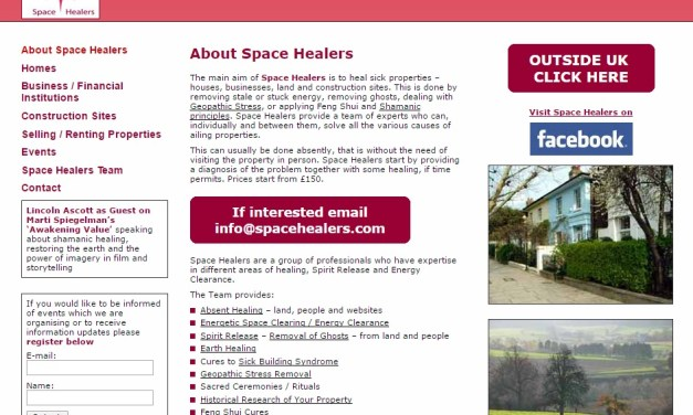 Space Healers – Lincoln Ascott