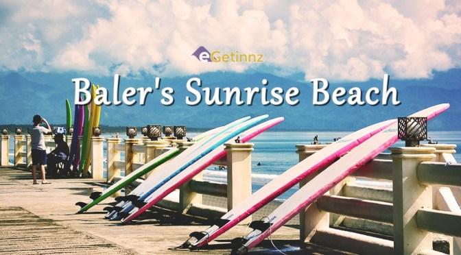 Baler's Sunrise Beach