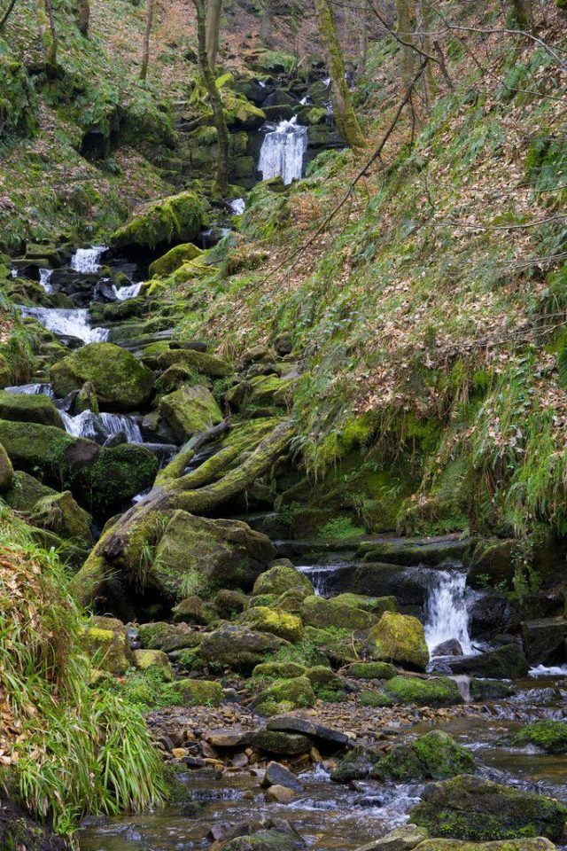 Hardcastle Crags, Yorkshire, England