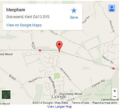 Meopham Map