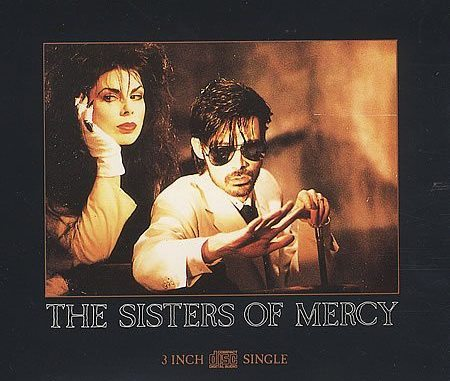 "Sisters Of Mercy German 3"" CD single"