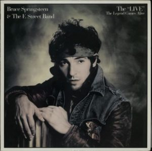 Bruce Springsteen The Live Japan DJ only LP