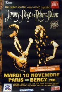 Page & Plant Live In Paris 1998