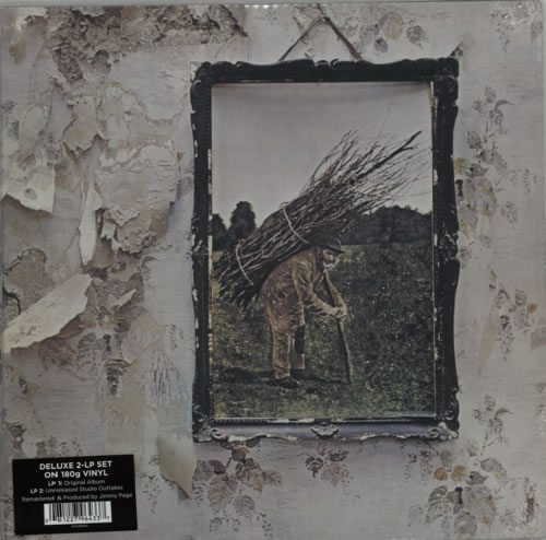 Classic Led Zep, remastered and reissued - includes bonus LP of outtakes