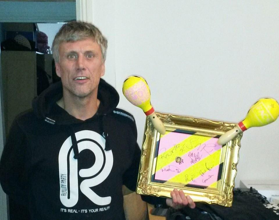 As modelled by Bez