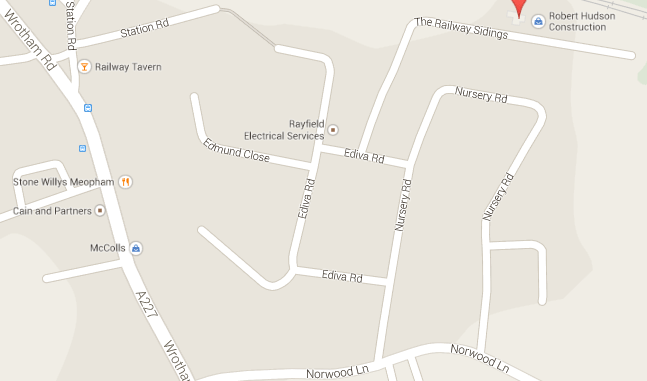 Find our warehouse here in Meopham, Kent