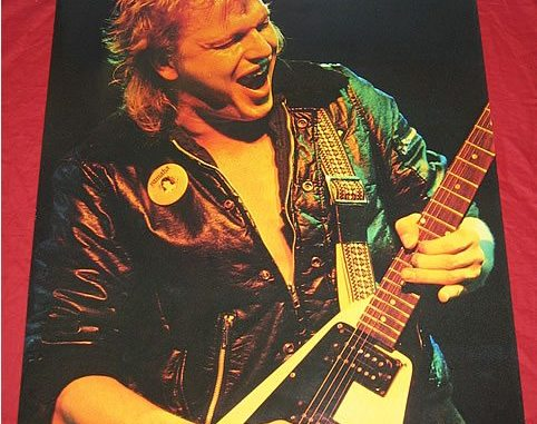 Michael Schenker Group, One Night At Budokan, 1981 Japanese Chrysalis