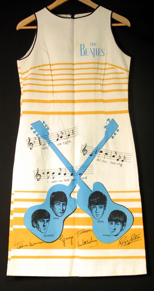 The-Beatles-Dress---Beige-Str-398974 (1)