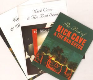 Nick Cave Collection of Postcards, Newsletters and posters