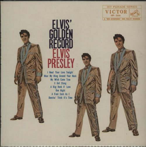 Elvis+Presley+Elvis+Golden+Record+627905