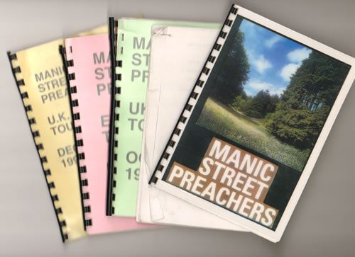 Manic+Street+Preachers+Quantity+of+Five+1996+Tour+Iti+640934
