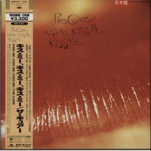 Kiss Me Kiss Me Kiss Me 1987 Japanese 18-track promo sample double LP