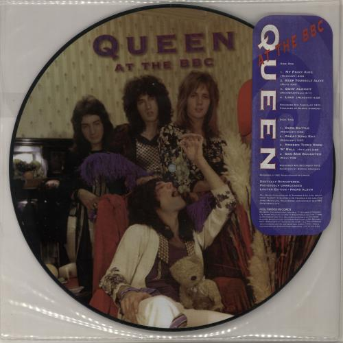 Queen+At+The+BBC+-+Stickered+Sleeve+44544