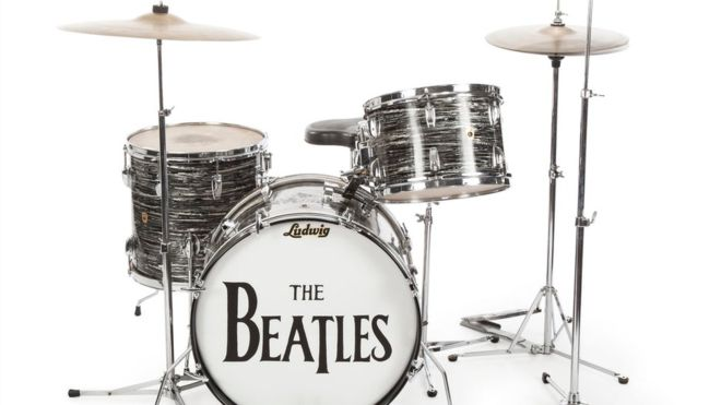 87050562 87050558 A Drum Kit Played By Ringo Starr