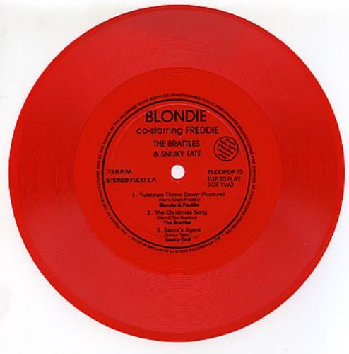 Blondie+Yuletown+Throw+Down+-+Red+288075