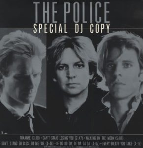 The Police & Sting Special DJ Copy - 1986 A&M Japanese promotional only vinyl LP was produced in small numbers and issued to top radio jocks only