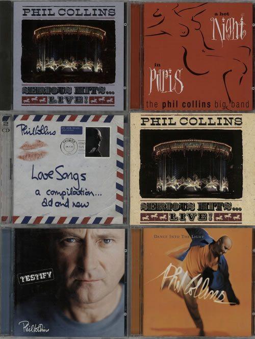 Phil+Collins+1981-2002+Albums+626214