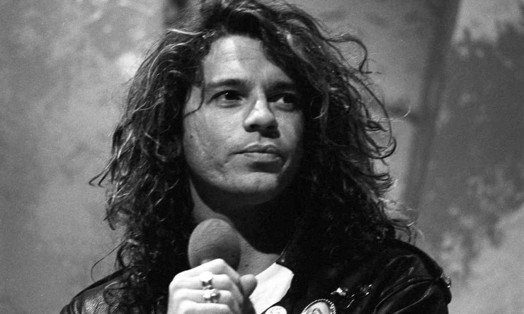 Michael Hutchence died in 1997. An album of previously unheard songs and a documentary will mark 20 years since his death. Photograph: ITV/REX