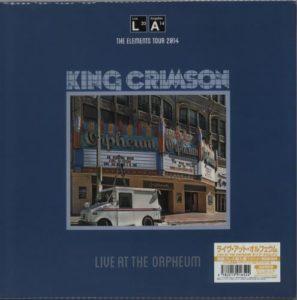 Live At The Orpheum 2015 Japanese LP pressed on 200gm Super Heavyweight Vinyl